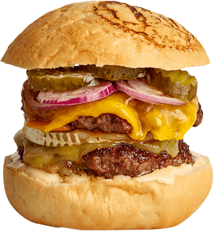 Big Cheesy Cheeseburger