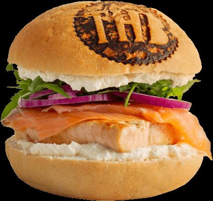Double Saumon Burger