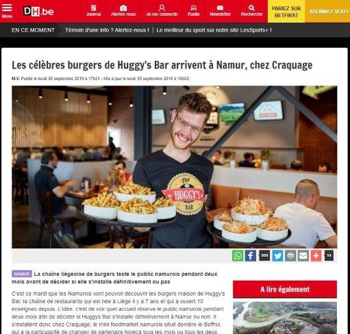 Derniere Heure - THB Namur Craquage
